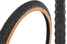 PAIR 20x1.75 AMBERWALL COMP 3 III TREAD TYRES FOR OLD SCHOOL BMX &RALEIGH BURNER