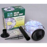 Solar Rope Light 50 LED Garden Outdoor Party Light Tube