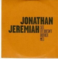 (BY128) Jonathan Jeremiah, See (It Doesn't Bother Me) - 2010 DJ CD