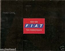 Auto Brochure - Fiat - 124 128 - Family Cars - 1974 - 75th Anniversary (AB114)