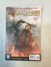 Freddy Vs Jason Vs Ash 1 Nightmare Warriors Wildstorm Comics 2009 (FJA01)