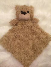 SECURITY BLANKET Sumersault Bunny Rabbit Swirl Fur IVORY WHITE SNUGGLE Buddy