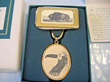 Eagle Landing Keychain Barlow New in box + Bison Knife/Money Clip
