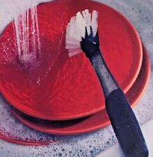 Good Grips Stainless Steel Dish Brush Scrubber With Scraper