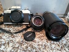 Minolta x500 with 50mm f1.4 and Tamron SP 35-210mm f3.5-4.2