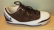 2006 Nike Zoom Lebron III 3 Low White University Blue Brown SZ 11.5 (314010-143)
