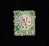 New Zealand 1/- One Shilling Postage Due 1899