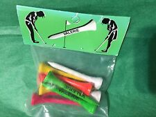 Set of 10 Golf Tees Personalized Valerie Stocking Stuffer Office Gift