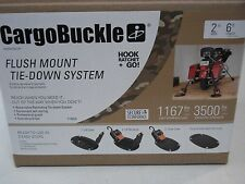 F18804 CargoBuckle G3 Retractable Tie-down Strap for Toy Hauler Trailer