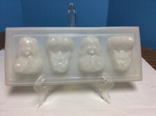 Vintage Novelty Party Ice Cube Tray Nude Naked Topless Ladies Jell-o Desert Mold