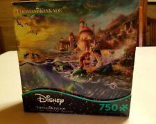 Disney Thomas Kinkade Disney 750 Piece Puzzle - The Little Mermaid