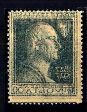 ITALIA - Regno - 1927 - Centenario della morte di A. Volta - 50 c. - varietà
