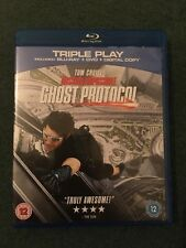 Mission Impossible Ghost Protocol UK Blu Ray & DVD