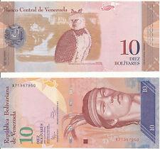 Venezuela - 10 bolivares 19. 8. 2014 UNC-pick 90e