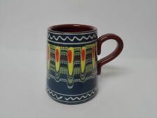 Jarra de Cerveza en ceramica esmaltada y pintada a mano 1/2 Litro COLOR A ELEGIR