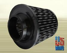 "3"" Carbon Fiber Cold Air Oil Free Washable Filter for Civic Delsol Crx Integra"