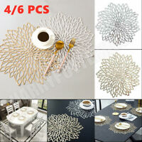 Placemats Set Chargers Place Mat Washable Dining Table Wedding Party Mat Pack