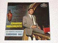 """EDUARDO NASCIMENTO EUROVISION 1967 PORTUGAL ORIGINAL EDITION PORTUGAIS EP 7"""""""