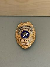 Vintage Military Police & Outdoor Supply Badge