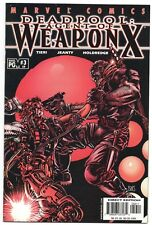 Deadpool Agent Of Weapon X 3 59 Marvel 2001 VF Wolverine Barry Windsor Smith