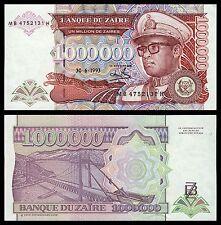 Zaire  1000000 Zaïres  30-6-1993  Pick 45b  SC = UNC
