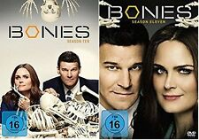 BONES - DIE KNOCHENJÄGERIN Staffel Season 10 + 11 TV-Serie 12 DVD Box Collection