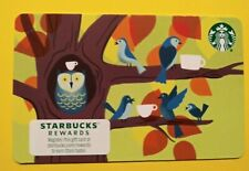 """STARBUCKS CARD 2021 """" 🐦 BIRDS IN A TREE 🐦"""" NEW RELEASE~CUTE CARD🐦GREAT PRICE"""
