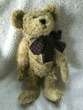 """Boyds Mohair Bear 18"""" Roosevelt P Bearington #7507 jointed with tags"""