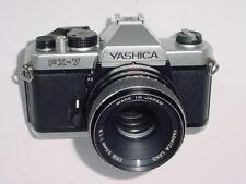 Yashica FX-7 FX7 35mm Pellicola SLR Fotocamera MANUALE CON YASHICA LENS DSB 50mm F1.9