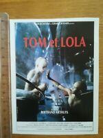 FICHE CINÉMA Première FILM - Tom et Lola 1989 P Arthuys N Stubbs M Coollin C Mag
