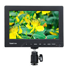 "1080P Protable 7"" On Camera/Crane Jib Field Monitor HDMI VGA DSLR Video Monitor"