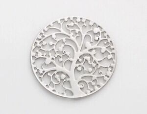 My Family Tree Floating Plate Charm for Living Lockets - US Seller