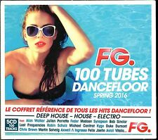 FG 100 TUBES DANCEFLOOR SPRING 2016 - 5 CD COMPILATION NEUF ET SOUS CELLO