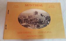 Vintage MONTREAL View Album Genuine Photogravure Pictures
