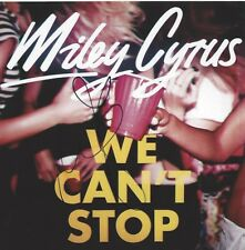 SINGER MILEY CYRUS SIGNED WE CAN'T STOP 8x8 PHOTO ALBUM COVER FLAT w/COA