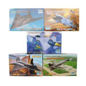 1:144 Trumpeter 5PCS Aircraft Fighter Plastic Military Plane Model Assemble Kit