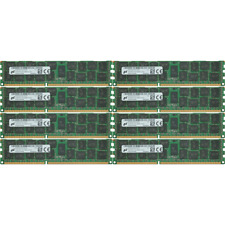 Micron 128GB 8X16GB PC3-14900R DDR3-1866Mhz 240Pin Server Registered Memory Ram