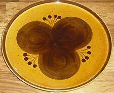 1 Speiseteller  23,5 cm   Melitta  BURGUND  handbemalt