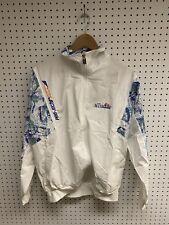 Vintage Ellesse White Multicolor Track Suit Set Size L