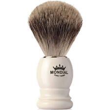 Mondial 1908 Best Badger Shave Brush Faux Ivory