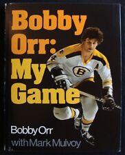 1974 BOBBY ORR (BOSTON BRUINS): MY GAME W/ MARK MULVOY - HARDCOVER