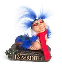 "Labyrinth 'Ello Worm 1:1 Scale Statue Figure 5 3/4"" Tall Polyresin Jim Henson"