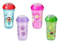 Nuby Insulated Cool Sipper Training Spout Cup Beaker No Spill 270ml 18+