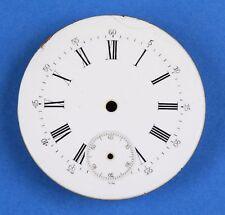 Zifferblatt f Taschenuhr Uhr EMAIL TASCHENUHRZIFFERBLATT D40 pocket watch dial