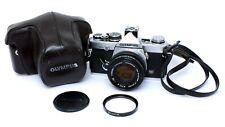 ✮ Olympus OM-2n mit F.Zuiko 50mm f/1.8 Objektiv + Tasche // vom Händler!