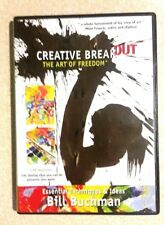 Bill Buchman CREATIVE BREAKOUT The Art of Freedom (DVD, 2008) ART TECHNIQUES DVD
