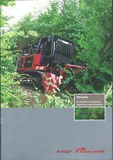 Equipment Brochure - AHWI Prinoth RT400 Mulcher 2011 - FRENCH language (E4493)