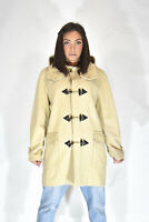 BURBERRY MONTGOMERY Cappotto Beige In Lana Stile Casual Donna Woman