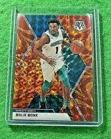 MALIK MONK MOSAIC ORANGE PRIZM CARD JERSEY#1 HORNETS 2019-20 MOSAIC BASKETBALL