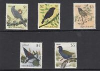 New Zealand 1988 Birds High Values To $5 VFU J6232